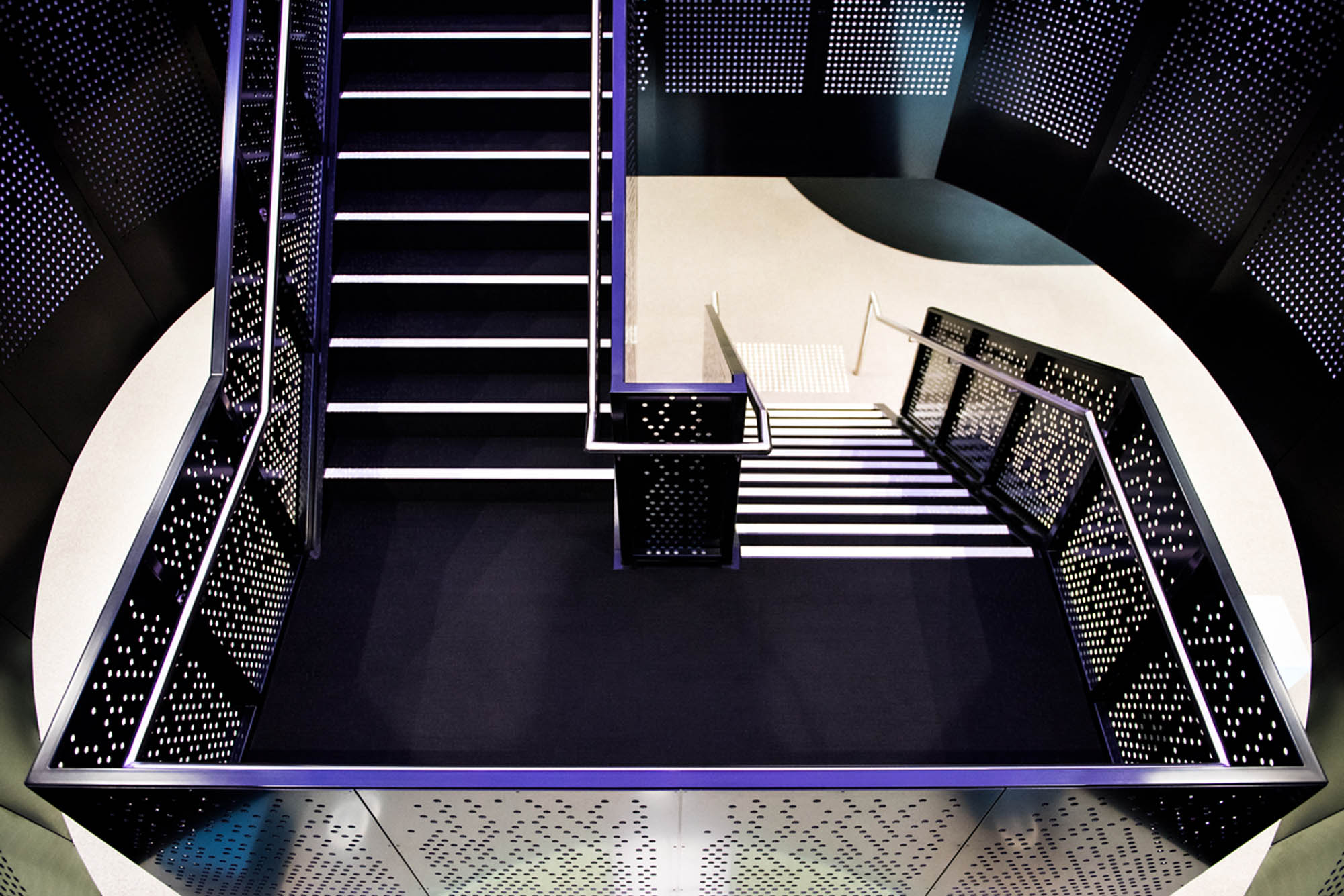 bourke st melbourne office fitout staircase