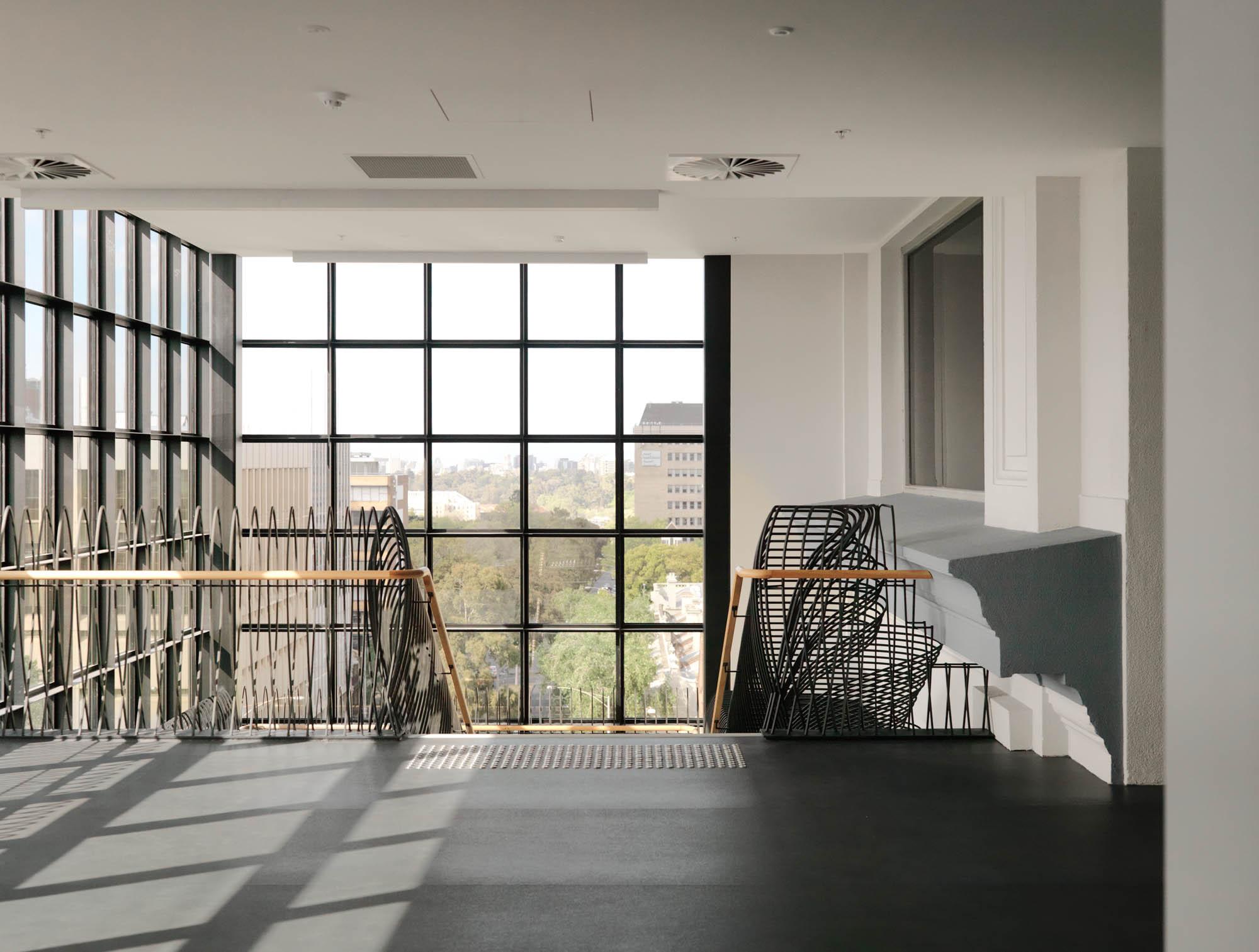 australia catholic university melbourne construction staircase landing 6561148
