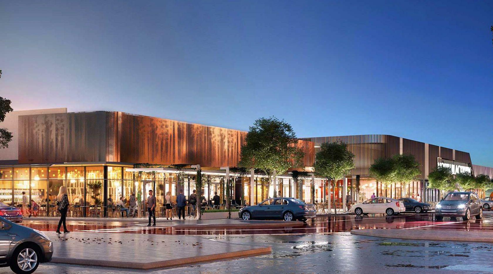 north blackburn shopping centre refurbishment upgrade render