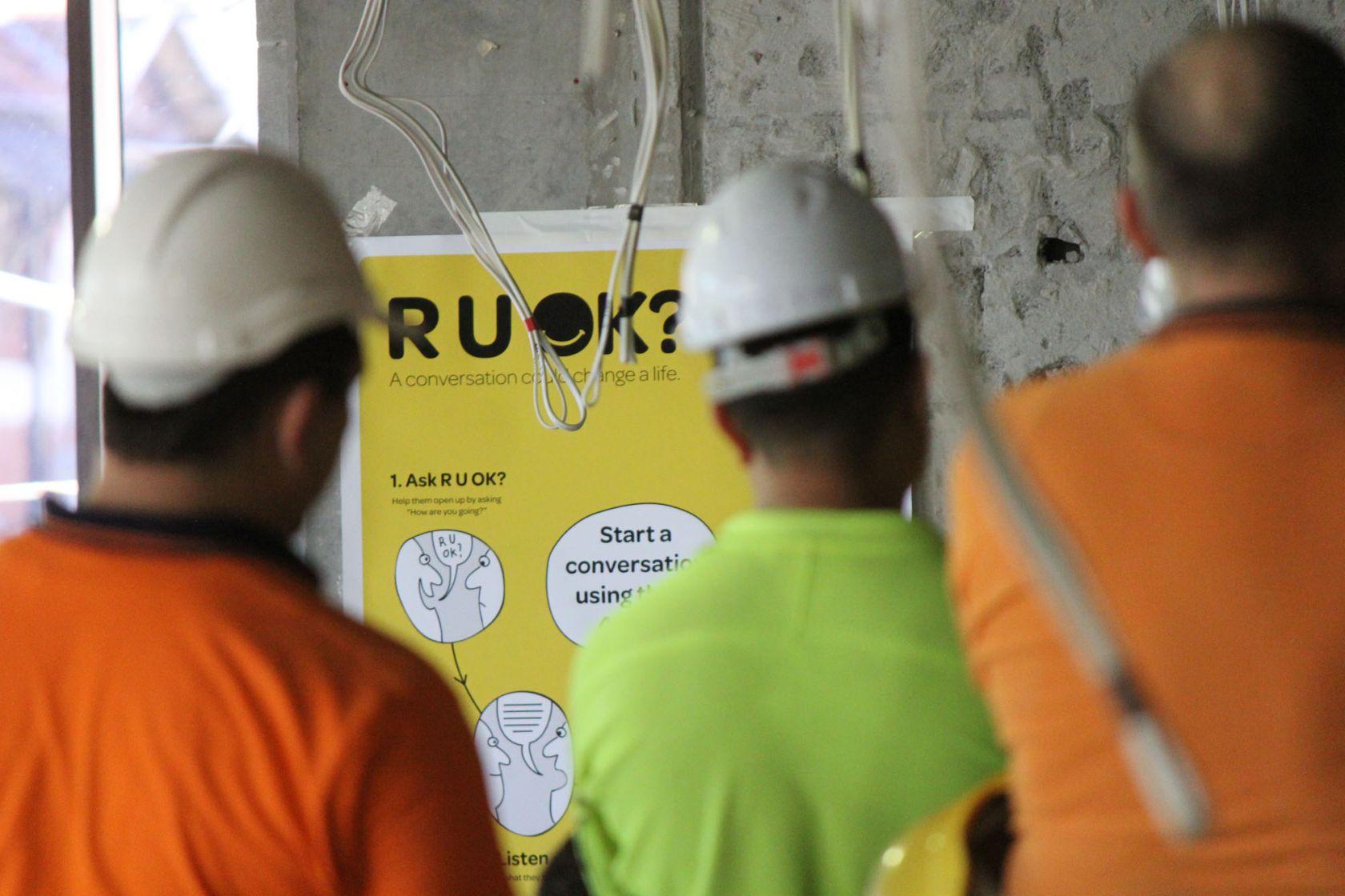 ruok day schiavello construction sydney