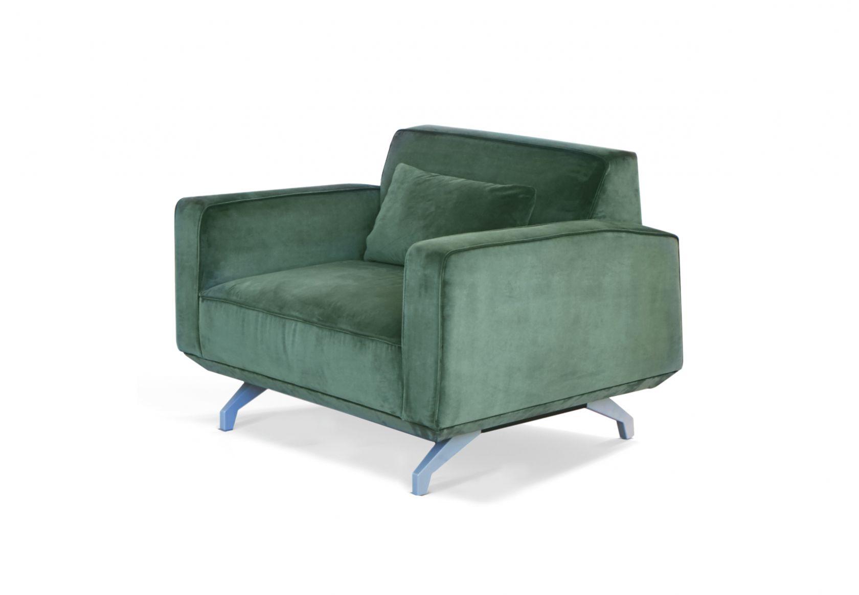 Bomba Sofa green velvet