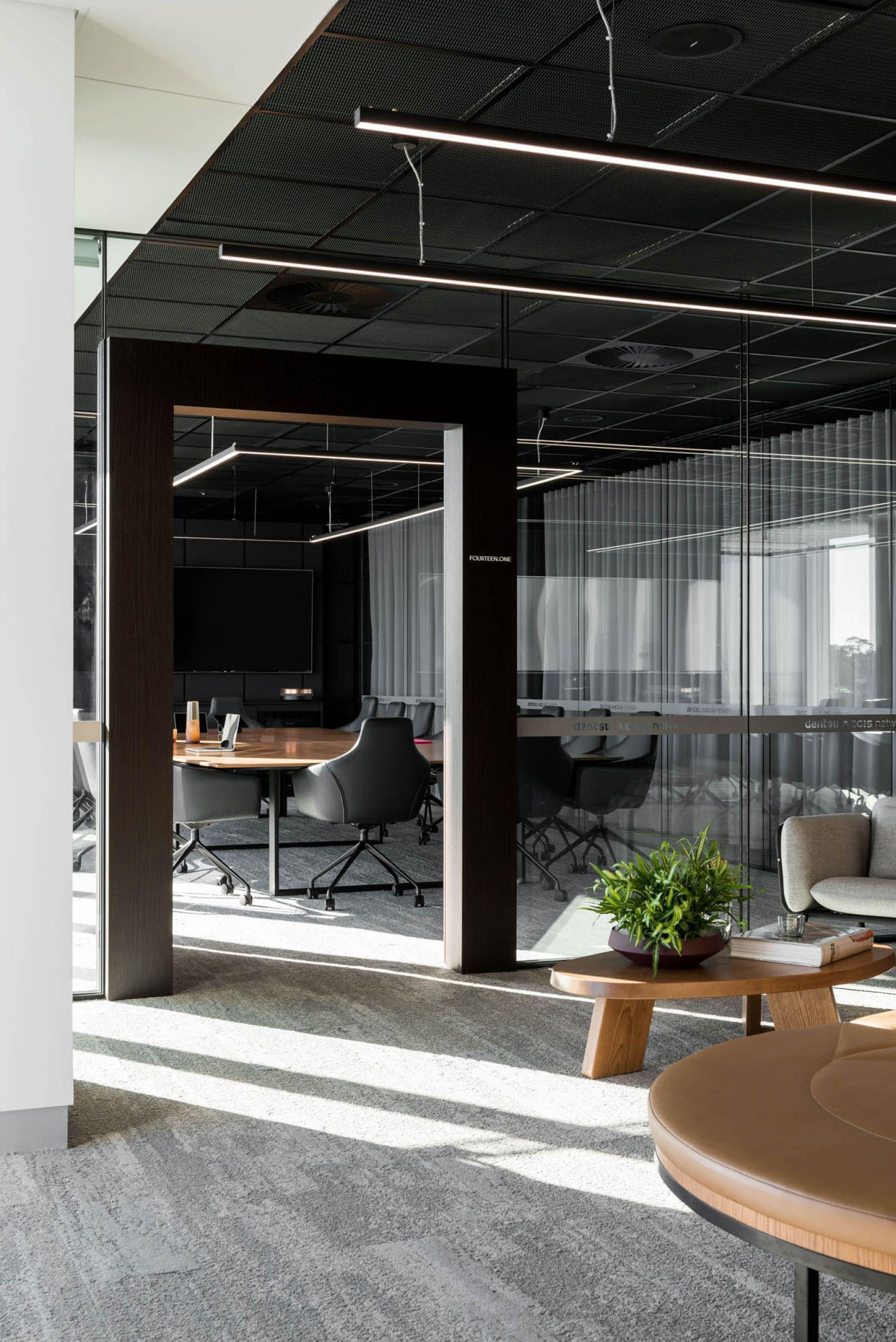 Schiavello palomino chair inside dentsu aegis network board room