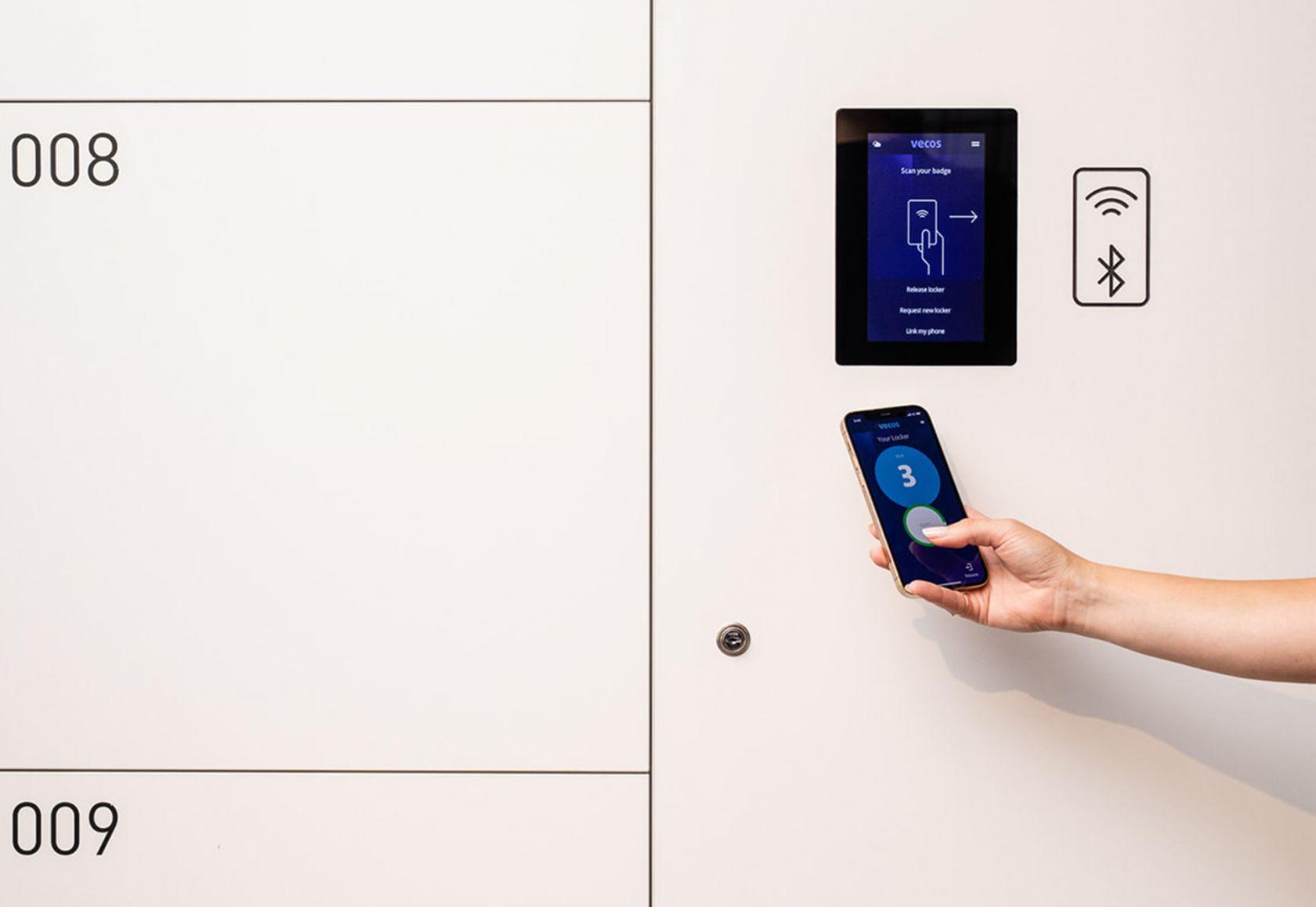 Vecos Lockers Mobile Unlock